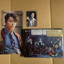 Super Junior I THINK U CD DVD Photobook photocard ticket holder set Donghae ver.