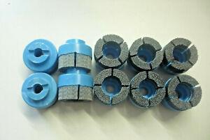 10 Stück Diamant Schleifbürsten ca.60mm Ø