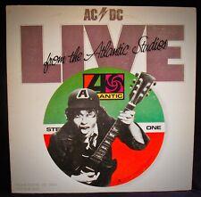 AC/DC~Live From The Atlantic Studios~Rare White Label Promo~ATLANTIC #LAAS 001