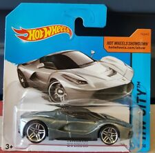 Hot Wheels 2014 - LaFerrari [SILVER] VHTF SHORT CARD  *12 CARS POSTED FOR $10*