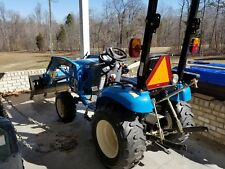 used compact tractor loader