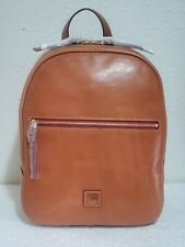 NWT $398 Dooney & Bourke Florentine Ronnie Natural Leather Backpack
