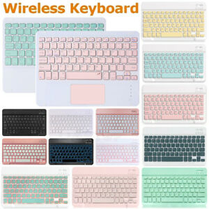 Rechargeable Wireless Bluetooth Keyboard For IOS iPad Android Tablet PC Windows