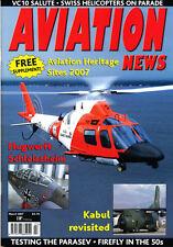 AVIATION NEWS 69/03 MAR 2007 Firefly,Kabul,Rogallo,Flugwerft Schleissheim,US Air