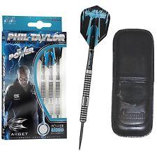 Target Phil Taylor 80% TUNGSTEN 8ZERO Dart Board DARTS 21gram + FREE DART CASE