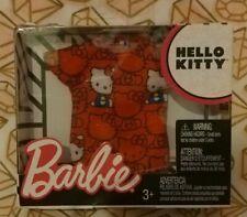 Mattel Barbie Doll Hello Kitty Fashion Sanrio
