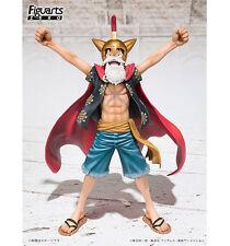 One Piece Gladiator Lucy Luffy Rubber Dress Rosa Figuarts ZERO Bandai ORIGINALE