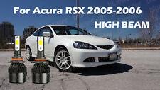 LED For Acura RSX 2005-2006 Headlight Kit 9005 HB3 White CREE Bulbs HIGH Beam