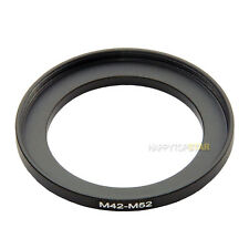 M42-M52 M42 Male to Female M52 42mm to 52mm Coupling Ring Adapter For Lens
