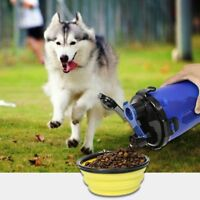 Hot 2 in 1 Dog Travel Water Bottle with Bowl, Portable Pet Cat Outdoor Cup