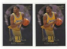 Kobe Bryant Rookie Cards (2) - 1996 Fleer Ultra All Rookie #3