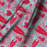 """Caladium Leafs Printed Pure Cotton Fabric Sewing Crafting & Drecor By Yard 44"""""""