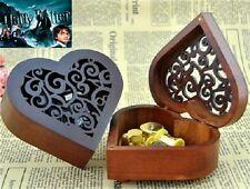 Heart Wood Wind Up Music Box : Prologue Harry Potter Hedwigs Theme