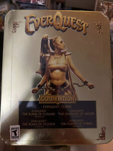 EverQuest Gold Edition PC Game Collectors Edition Rare - Unopened Brand NEW
