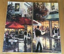 More details for tribeca bar & 5th avenue cafe by brent heighton canvas prints from john lewis