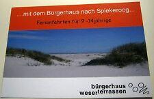 Advertising Ferien auf Spiekeroog Burgerhaus - unposted