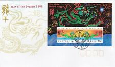 CI8) Christmas Island 2000 Chinese New Year Series - Year Of The Dragon M/S