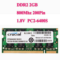 1 pic For Samsung MEMORY 1x1GB PC-6400 200-pin DDR2 800MHz SO-DIMM  63 RY1