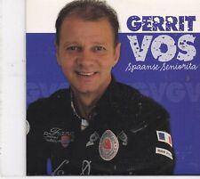 Gerrit Vos-Spaanse Senorita cd single