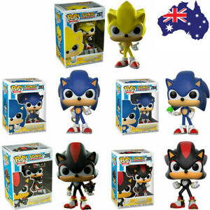 Funko pop SUPER SONIC WITH RING Shadow Action Figure Anime Model Collection Toys