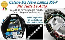 Catene da neve a Rombo 7mm Lampa RX-7 Jeep Renegade gomme 215/60R17 16394