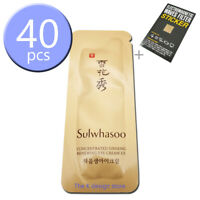 Sulwhasoo Concentrated Ginseng Renewing Eye Cream 1ml x 10~40pcs + 2gifts -KOREA