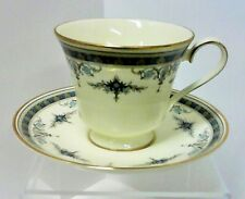 Minton Grasmere Blue Cup and Saucer