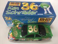Ken Schrader 2000 Grand Prix 36 M&M's Green Action BANK 1:24 1 of 1,008! RARE!