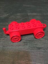 Vintage Lego Duplo Bricks Train Car