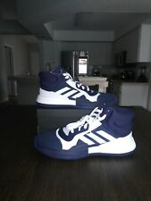 Adidas Marquee Boost Hi Top Basketball Navy White Mens Size 16