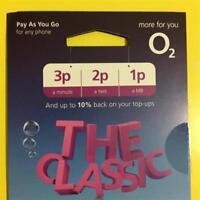 o2 SIM Card: Classic Pay As You Go (2017) +02 Priority Deals Standard/Micro/Nano