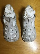 Vintage Toddler/baby Shoes White Leather Mary Janes