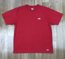 Vintage THE NORTH FACE Mens VaporWick T-Shirt | Retro Tee Outdoors | XL Red