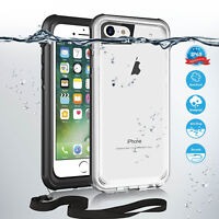 Real Waterproof Phone Case For iPhone X 8 7 Plus 6 6S Plus Full Protection Cover