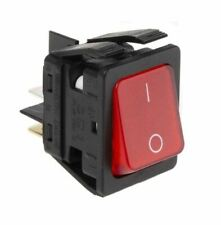 Arcolectric Switches C6053ALNAE Switch DPST Red Ill I/o Splashproof