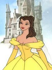 Parade of Princesses Sericel Limited Edition Disney Cel Fine Art Belle Ariel LE