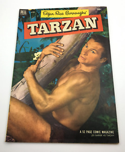 Tarzan #43 (1953, Dell)  Tarzan and the MAN-EATING TREE!