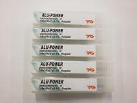 "5pc) YG1 3/8"" ALU-POWER Carbide End Mills for Aluminum YG-1 .375 3FL 28584"