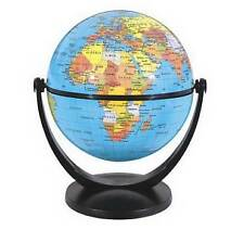 Educational World Earth planet Globe Swivel on Axis Table Desktop- New