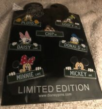 Disney Trading Pin Pack Disney Characters Street Signs See Photos