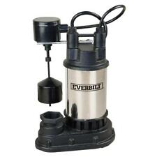Everbilt SP05002VD 1/2 HP Submersible Sump Pump New Other