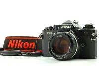 【 TOP MINT 】Nikon FM3A 35mm Black Film Camera w/ Ai-s 50mm f/1.4 Lens from JAPAN
