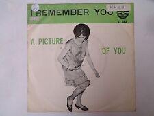 "RARE SP 7"" - BOBBY STEVENS - I remember You - VG+/EX++ - TEENY - T.183 - BELGIUM"