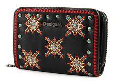 Desigual Sandy Magnetic Samll Wallet Negro