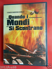 dvd movie film quando i mondi si scontrano when worlds collide film fantascienza