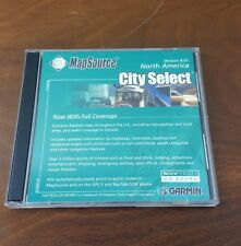 Garmin MapSource City Select North America Version 4.01 NavTac