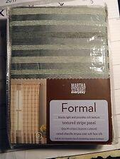 """Martha Stewart everyday Formal Textured Stripe (1) panel - 52"""" W X 63"""" L"""