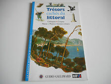 TRESORS CACHES DU LITTORAL - GUIDES GALLIMARD