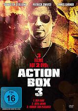 % 2 DVDs  * ACTION BOX, VOL. 3 | SYLVESTER STALLONE, PATRICK SWAYZE  # NEU OVP