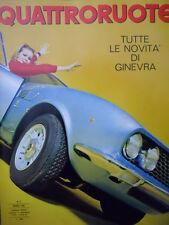 Quattroruote n°135 1967  - Test su strada Ford Taunus 15 M   [Q79B]
